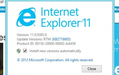 Novedades sobre el próximo navegador de Microsoft, Internet Explorer 11