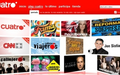 Play cuatro la television online de cuatro